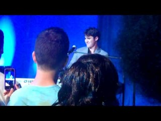 Darren Criss Sings Britney Spears - Baby One More Time