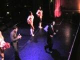 A.C.T. 2012 Fundraiser Darren Criss beatboxing wauctioneer Greg Quiroga