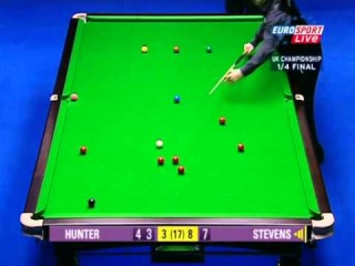 2003 UK Championship, Qf , Paul Hunter - Matthew Stevens, frame 12
