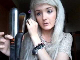 Наталья Кисель,как сделать небольшие волны на волосах)