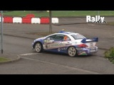 Turan drifts hairpins WRC Rally France 2010 - Peugeot 307 WRC