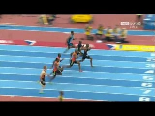 IAAF Indoor GP 2012 60 meter Asafa Powell 6.49