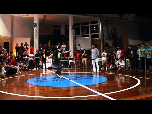Nelson vs Bidu (Rio H2K 2012)