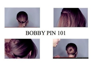 Bobby Pin 101 With Daven and The Back of Michelle's Head(как пользоваться невидимками)