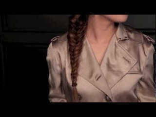 Michelle's Rouge In Love Fishtail Braid with Daven