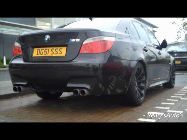 BMW M5 E60 Sounds - Burnout, Revs, Accelrations More ! (E60) - HD