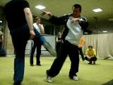 Master kung fu Lee Min. Мастер кунгфу Ли Мин
