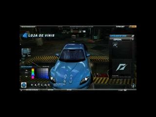 nfs world RX-8 da neela velozes e furiosos 3 tutorial + corrida