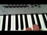 How to play Psy Gangnam Style, (강남스타일) on piano keyboard Instruction Tutorial