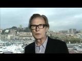 Channel 4 News Matthew Sinclair and Bill Nighy debate the 'Robin Hood' tax