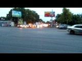 Парад по городу. 3-ий раунд UDC и 5-ый EEDC. Одесса. 11.08.2012