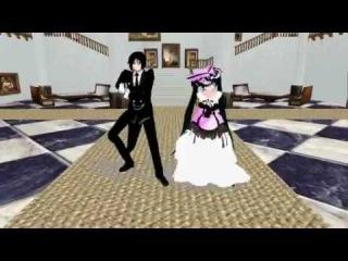 [MMD] Kuroshitsuji - Oppa Gangnam Style