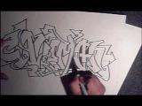 HOW TO DRAW GRAFFITI- ( CAVEMAN) (HQ) (I was Drunk) looks good