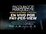 En Vivo por PPV: Pacquiao vs Marquez 4