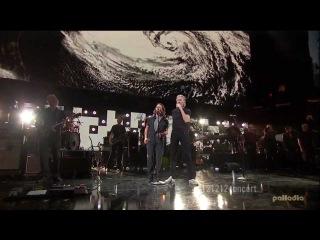 Роджер Уотерс (участник группы Пинк Флойд) на концерте