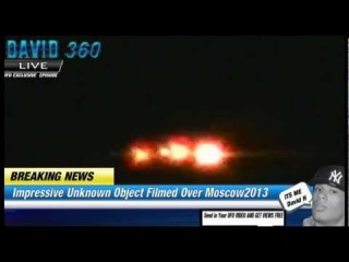 CNN 2013 UFO EXCLUSIVE DISCLOSE LEAKED I  Unknown Object  Burning DOWN IN MOSCOW SKY HD