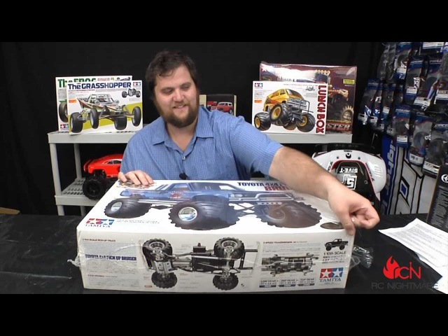 Tamiya Bruiser RC Truck Unboxing First Revew