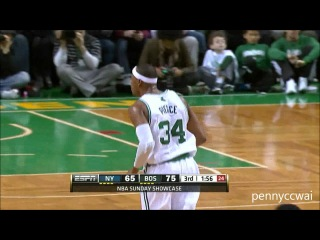 Rajon Rondo Amazing Triple-Double 18pts 17rebs 20asts vs Jeremy Lin the Knicks Complete HD Highlight