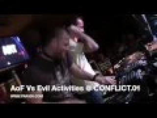 AOF VS EVIL ACTIVITIES @ CONFLICT.01 FLORIDA 8 DECKS 2 MIXERS SET