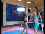Female Wrestling Zone Zsuzsa vs Zarina (second fall)
