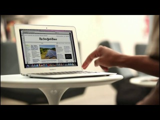Presentation of the new MacBook Air 2010 from Apple