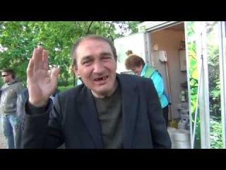 Квадратный Ватник интервью 1-му каналу