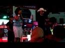 Night show at the cafe Ali Baba Naama Bay 02