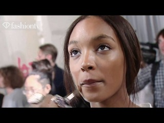 Jourdan Dunn Model Talk Spring Summer | FashionTV - FTV.com