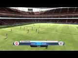 FIFA 12 mcvov78 Английская Премьер Лига Сезон 2012-2013 матч 01 Арсенал - Фулхэм ФИФА 12 Eng Barclays PL Arsenal - Fulham