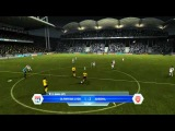 FIFA 12 mcvov78 Евро Лига Сезон 2012-2013 матч 13 Полуфинал Олимпик Лион - Арсенал ФИФА 12 Euro League Olympique Lyon - Arsenal