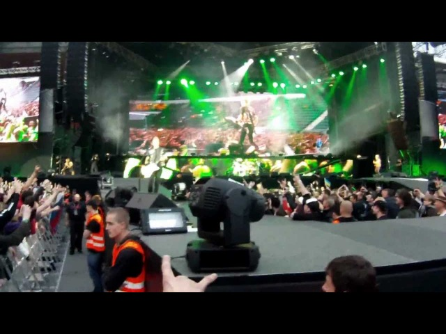 Metallica Prague 07 05 2012 The Ectasy of Gold Hit the Lights Master of Puppets