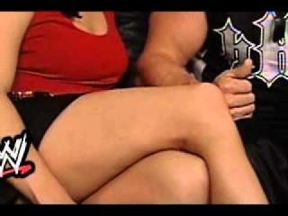 stephanie mcmahon's sexy legs.