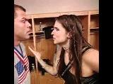 stephanie mcmahon backstage Survivor Series 2001.