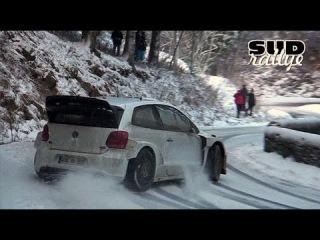 Essais Volkswagen Polo R WRC - Rallye Monte Carlo 2013 [HD]