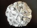 How to make an Origami Chrysanthemum Buckyball
