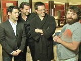 The Hangover: Bradley Cooper, Ed Helms, Zach Galifianakis & Justin Bartha