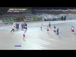 Хоккей с мячом / ЧМ-2011 / Финал /  Россия Финляндия  6:1