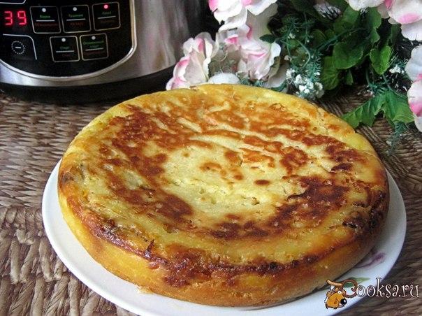 Пирог заливной в мультиварке рецепты с фото