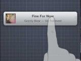 iOS MiniPlayer: концепт виджета для iOS, вдохновленный миниплеером iTunes 11