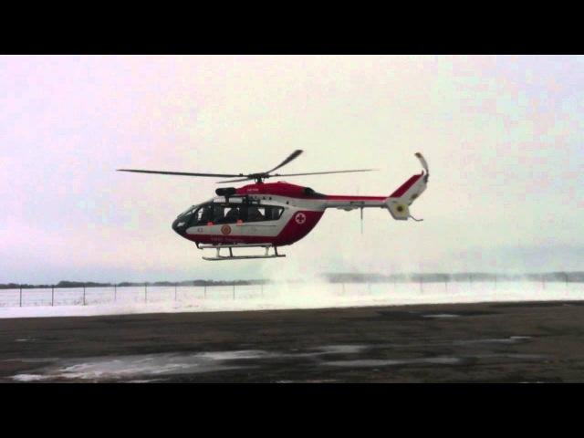 Eurocopter EC145 take off