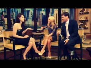 Kristen Stewart Live With Kelly 5.31.2012