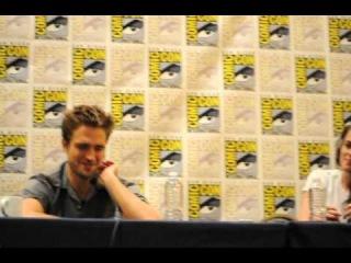 Comic-Con 2012: Kristen Stewart & Robert Pattinson Try To Explain 'BD' Sex Scenes