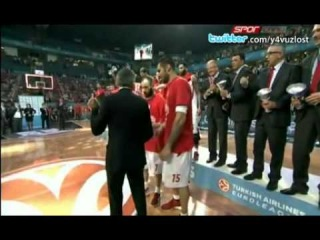 Last seconds of the euroleague final commented by turkish speakers.
