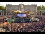 Will.I.Am &amp Jessie J ~ I Gotta Feeling (Diamond Jubilee Concert)