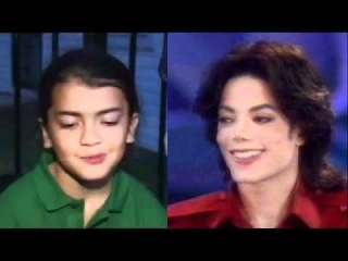 Michael and Blanket Jackson