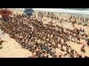 Флешмоб на пляже под музыку группы ABBA. Средиземное море. Но не в Европе. А мы в отпуск поедем поближе, в Грецию. А пока собира