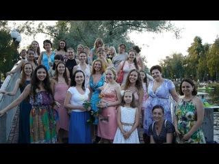 Флешмоб женственности 1 августа 2012 г. Москва