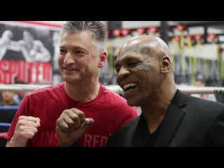 Iron Mike Tyson at Undisputed Boxing Gym, Feb. 25, 2012