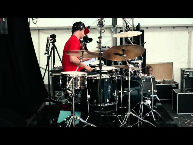 Adam Deitch @ D-DAY - Drummers Meeting Meppel 2012. Rimshot Drum Centre