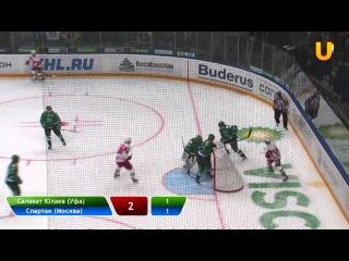 U-News. Салават Юлаев - Спартак 4:2 (28.01.2012)